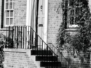 1950's front door on river thames