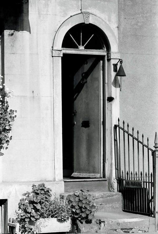 Victorian door photograph