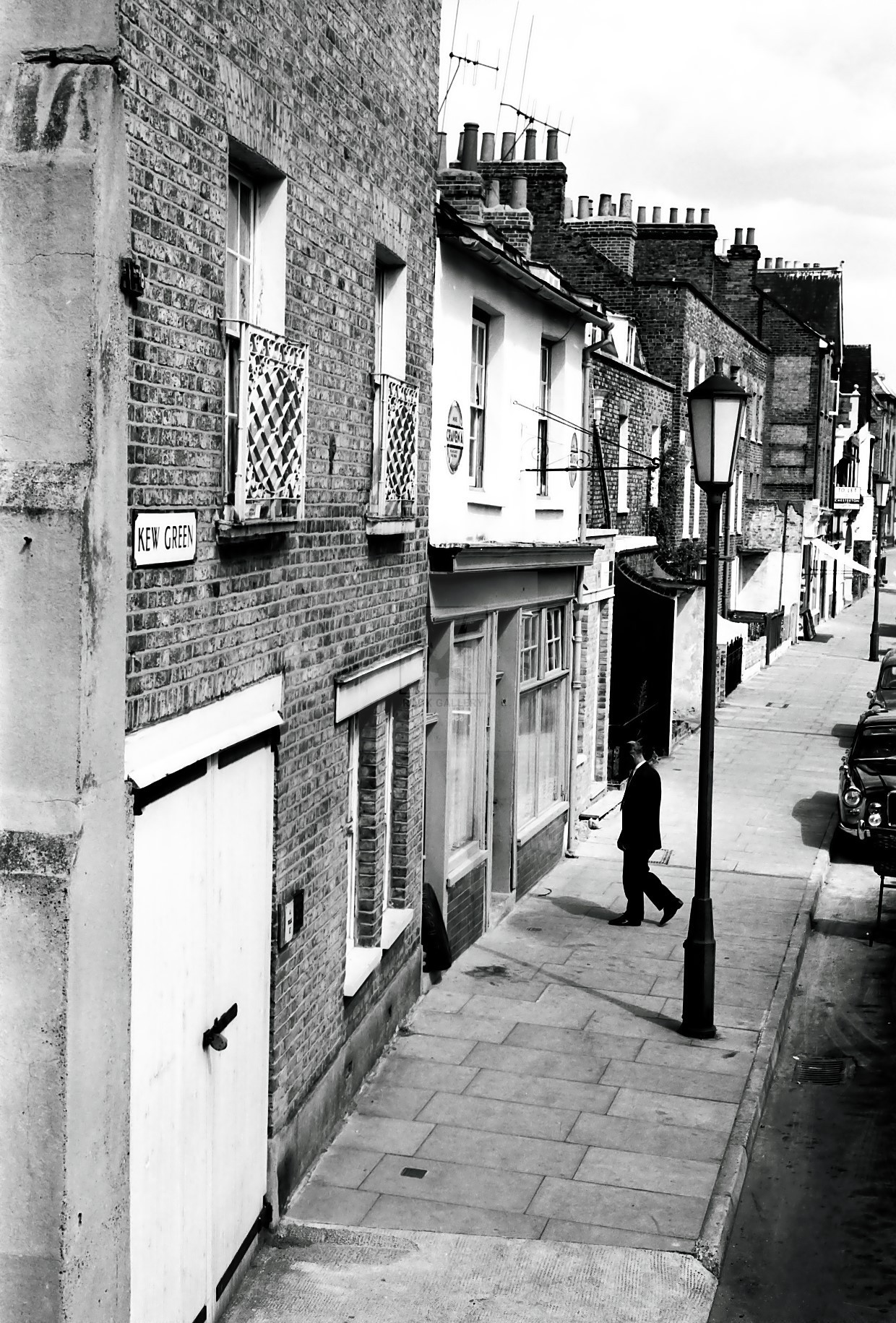 Architecture 1950s black white photography london for Architecture 1950