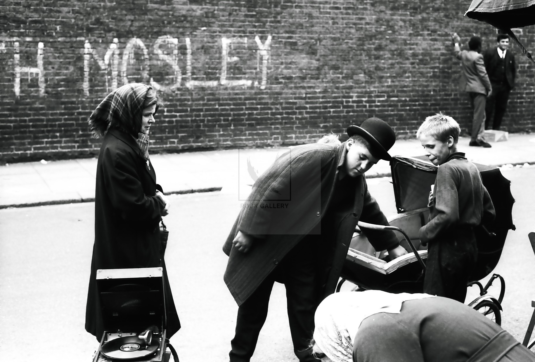 Mosley London graffiti 1950s